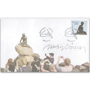 2013 Denmark Little Mermaid - Signed by Martin Morck