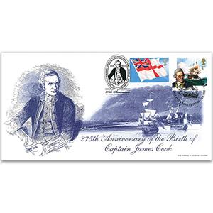 2003 Doubled 2018 Captain Cook & Endeavour Voyage