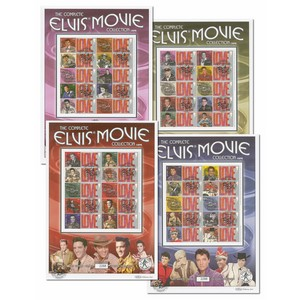 Elvis Movie FD Card Set of 4