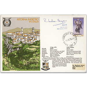 1975 RAFES Escape from Italy - Signed by ACM Sir Ronald Ivelaw-Chapman GCB