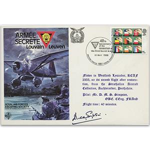 1980 RAFES Armee Secrete - Signed Pilot