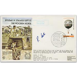 1983 RAFES Wooden Horse - Signed Pilot