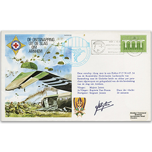 1984 RAFES Escape From Arnhem - Signed Pilot