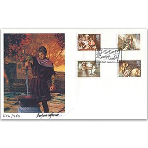 1985 Arthurian Legends - Fine Art Official: Barbara Lofthouse