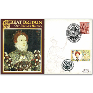 2003 Death of Queen Elizabeth I 400th - Doubled Isle of Man