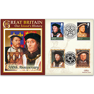 2009 500th Anniversary Death Henry VII & Accession of Henry VIII