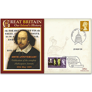 2009 Publication of the Complete Shakespeare Sonnets 400th