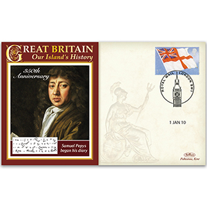 2010 Samuel Pepys Diary 350th
