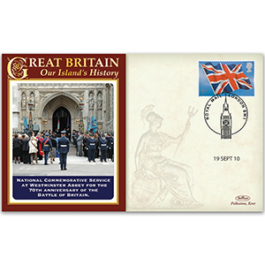 2010 National Commemorative Service at Westminster Abbey for 70th Anniversary Battle Britain