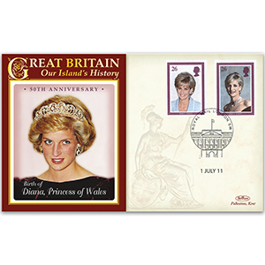 2011 Diana, Princess of Wales 50th