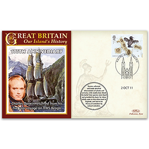 2011 175th Anniversary Return of HMS Beagle & Charles Darwin