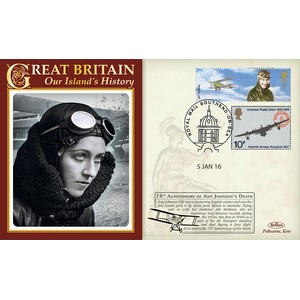 75th Anniv - Death of Amy Johnson