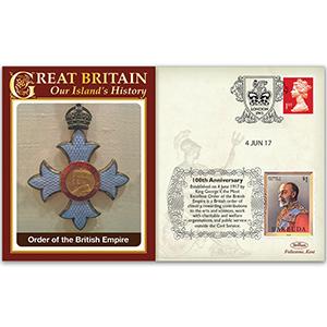 2017 100th Anniversary Order of the British Empire