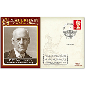 Birth of John Galsworthy 150th Anniversary