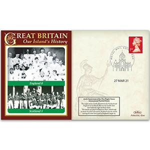 First Rugby Union Football International Match