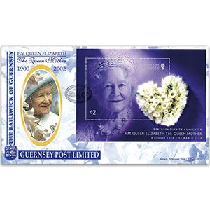 2002 Guernsey Queen Mother M/S
