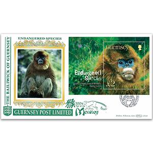 2004 Guernsey - Endangered Species M/S