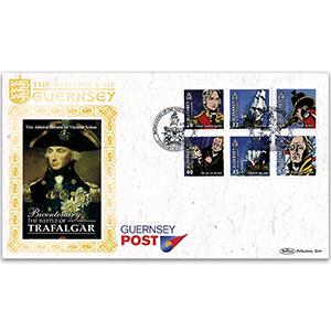 2005 Alderney - Bicentenary Trafalgar
