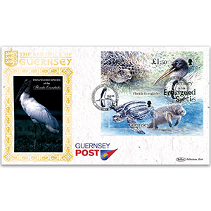 2006 Guernsey - Endangered Species M/S