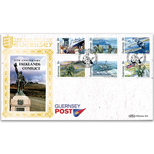 2007 Guernsey - 25th Anniversary of Falklands Conflict