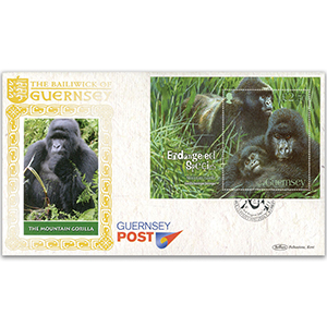 2007 Guernsey Endangered Species - Mountain Gorilla