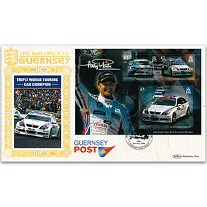2008 Guernsey - Andy Priaulx Triple World Touring Car Champion M/S