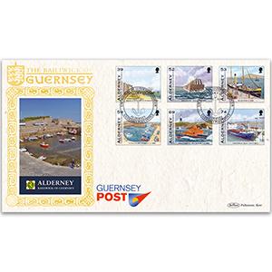 2012 Alderney - History of Alderney Harbour