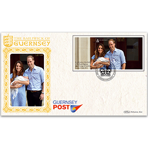 2013 Guernsey Royal Baby M/S - Guernsey Post Office