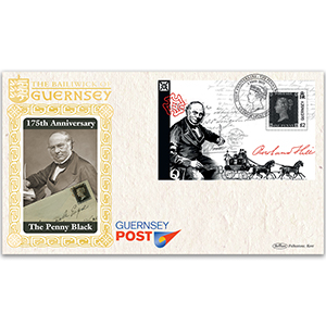 2015 Guernsey - 175th Anniversary of Penny Black