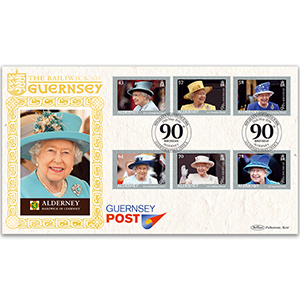 2016 Alderney Queen's 90th Birthday