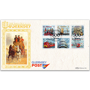 2016 Guernsey 500 Years of Postal History