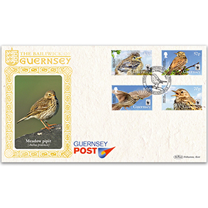 2017 Guernsey - Endangered Species, Meadow Pipit