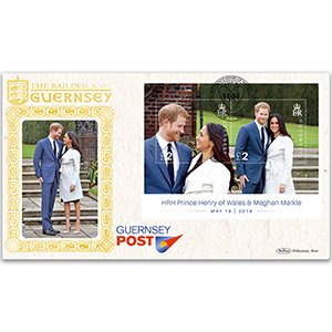2018 Guernsey - Marriage of HRH Prince Henry of Wales & Meghan Markle