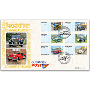 2019 Guernsey - 50th Anniversary Guernsey Old Car Club Post & Go