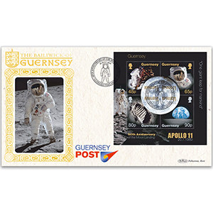 2019 Guernsey - 50th Anniversary of the First Manned Moon Landing