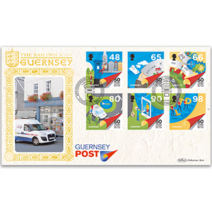 2019 Guernsey - 50th Anniversary of Postal Independence