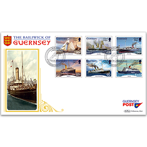 2020 Guernsey - Europa Mail Ships (Ancient Postal Routes)