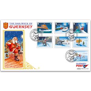 2020 Guernsey - Christmas Santa's Visit