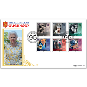 2021 Guernsey - 95th Birthday of HM The Queen