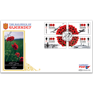 2021 Guernsey - Royal British Legion 100 Years