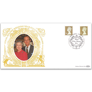 1997 Royal Golden Wedding Year GOLD 500