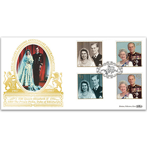 1997 Royal Golden Wedding Year GOLD 500 Cover