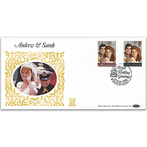1986 Royal Wedding of Prince Andrew & Sarah Ferguson GOLD 500