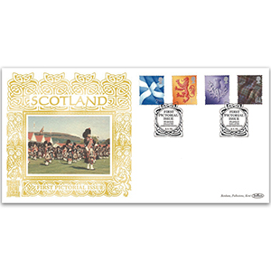 1999 Scotland First Pictorial Definitives GOLD 500