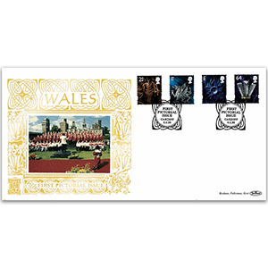 1999 Wales First Pictorial Definitives GOLD 500