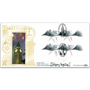 1999 Millennium Timekeeper GOLD 500 - Signed Lord Jeffery Archer