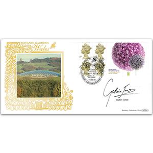 2000 Botanic Garden of Wales Label GOLD 500 - Signed by Gethin Jones