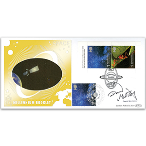 2000 Space Millennium Booklet GOLD 500 - Signed by David Morrissey