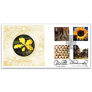 2000 Tree & Leaf GOLD 500 - Signed by Charlie Dimmock