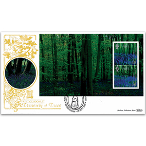 2000 Treasury of Trees GOLD 500 PSB - Bluebells Pane